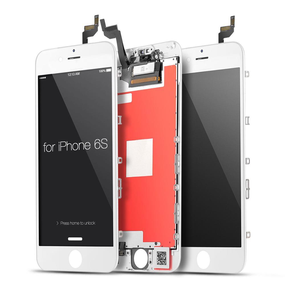 מסכי LCD מסכי LCD טלפון נייד עבור digitizer תצוגת מסך מגע LCD 6s iPhone הרכבה Pantalla ecran 6s צגי LCD (1)