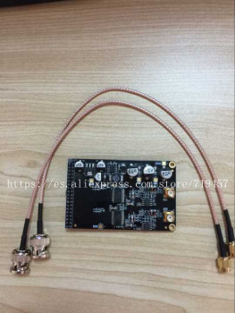 FREE SHIPPING High speed 12 bit dual channel AD module supporting industrial grade FPGA black gold development board