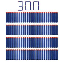 300 Pcs 7.2*1.3 Cm EVA Foam Soft Refill Kogel Darts voor Nerf N-strike Elite Series Blasters kid Speelgoed Pistool Onderdelen Play Game(China)