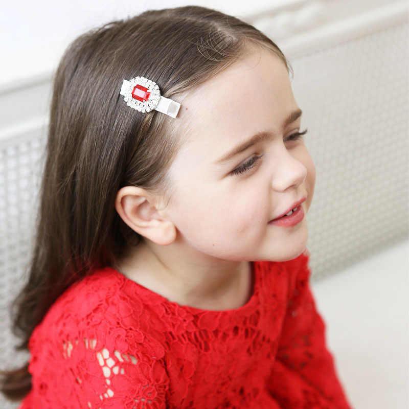 子供の宝石カラフルな宝石ヘアピン子供ガールヘアピンスタイル環境保護