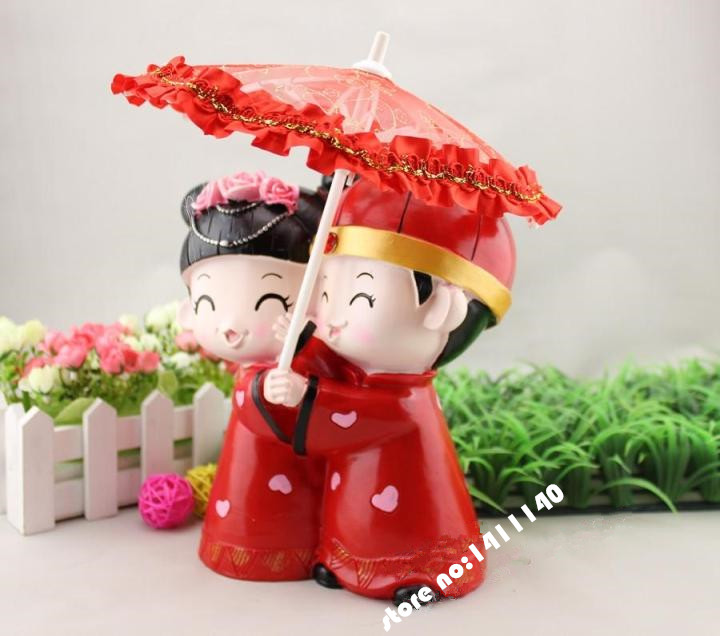 creative wedding gifts chinese tradition style couple romantic