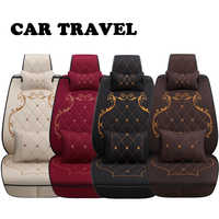 Flax car seat covers for for Hyundai solaris ix35 i30 ix25 Elantra accentl auto accessories car seats protector car-styling
