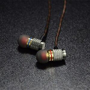Image 5 - KZ EDR1 Metall In Ohr Kopfhörer Hohe Qualität HiFi Sport In ear Ohrhörer Ohr Gute Bass Headset