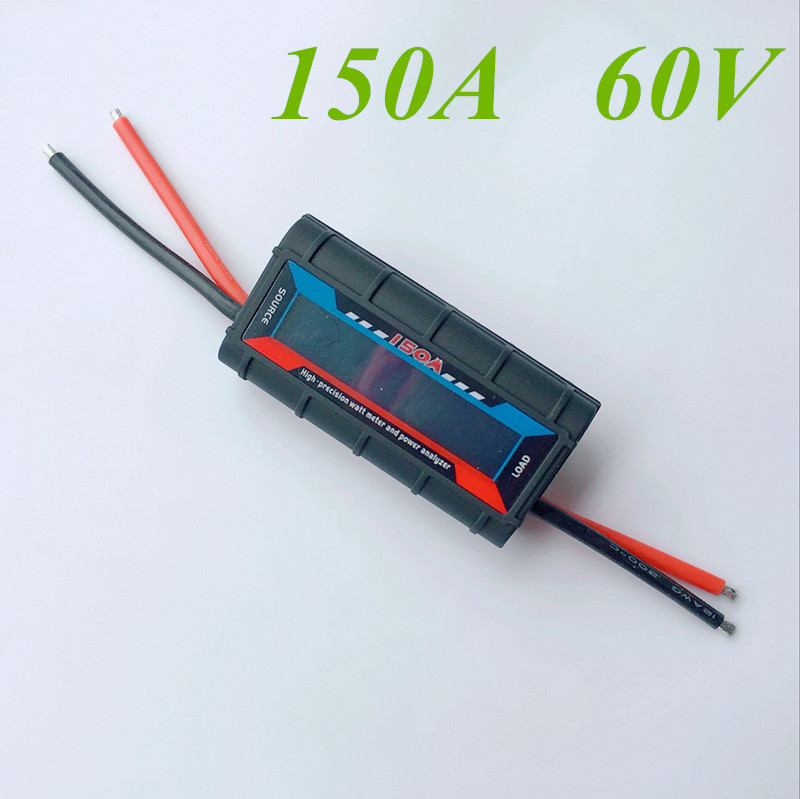 5 Pcs X 150A 60V Current LCD Display High Presision DC Watt Meter And Power Analyzer For Solar Panel Battery Management