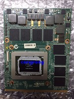Barato GTX 580M GTX580M 2GB GDDR5 MXM 3 0B tarjeta gráfica de vídeo para Alienware M17x R2