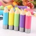Fantástico Funky Unisex Sólida Em Forma de Lápis Crayons Hidratante vara Lip Balm Nova Qualidade Hot