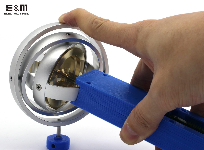 12000 tr/min électrique mécanique en métal GyroToy Gyroscope classique Collection cadeau compteur gravité technologie créative