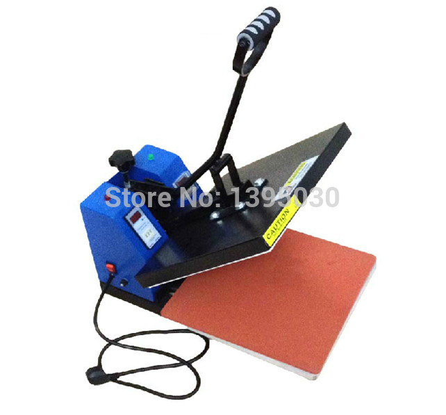 1PC 2200W Image Heat Press Machine For T-shirt With Printing Area Available For 38 cm x 38 cm cheap manual swing away heat press machine for flatbed print 38 38cm