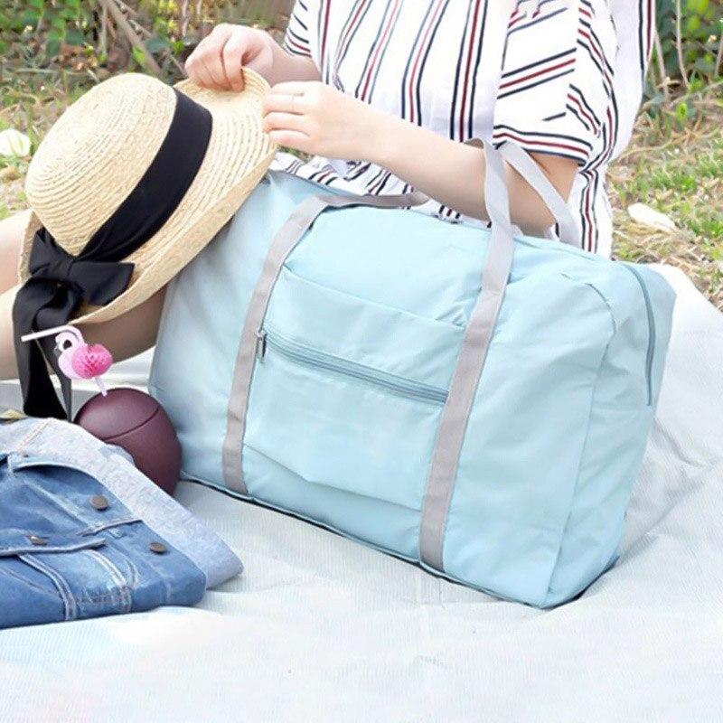 Storage-Handbag Gym-Bags Training Fitness Travel Outdoor Portable Women Folding Large-Capacity
