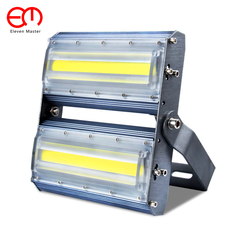 LED Flood Light 100W 50W 30W LED Floodlight IP65 Waterproof AC90~220V LED Spotlight Refletor LED Outdoor Garden ZFD0007 ultrathin led flood light 200w ac85 265v waterproof ip65 floodlight spotlight outdoor lighting free shipping