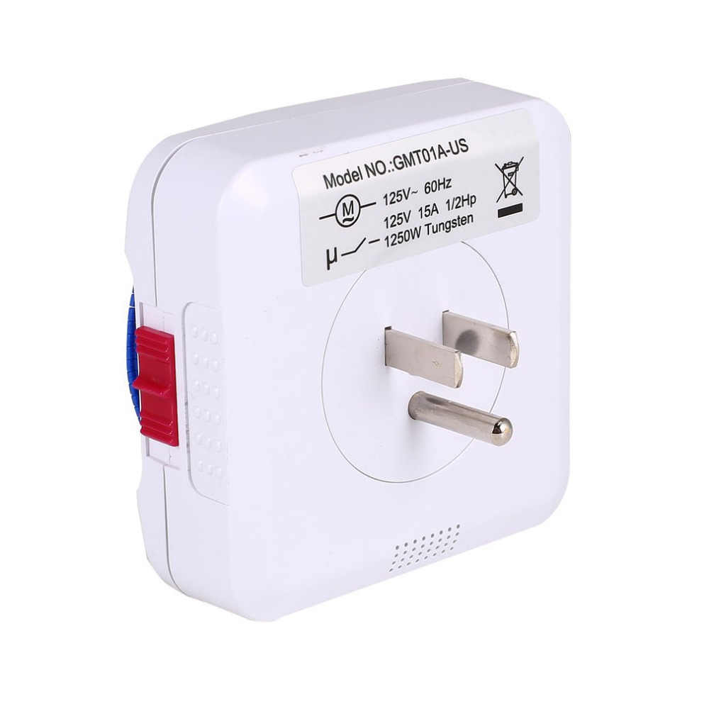 Minuterie interrupteur 24 heures brancher mécanique mis à la terre Programmable Smart compte à rebours prise intérieure automatique mise hors tension 230V