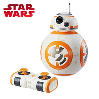 2018 Star Wars E8 Series THE LAST JEDI HYPERDRIVE BB 8 Deluxe Smart Robot Model Electronic Toy Plastic RC Remote Control Toy