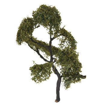 New 4.72 Inch 1/75 Scenery Landscape Model Tree AshTrees Train Scenery Landscape Tree Model Dollhouse Decor Accesories Kids Toy image