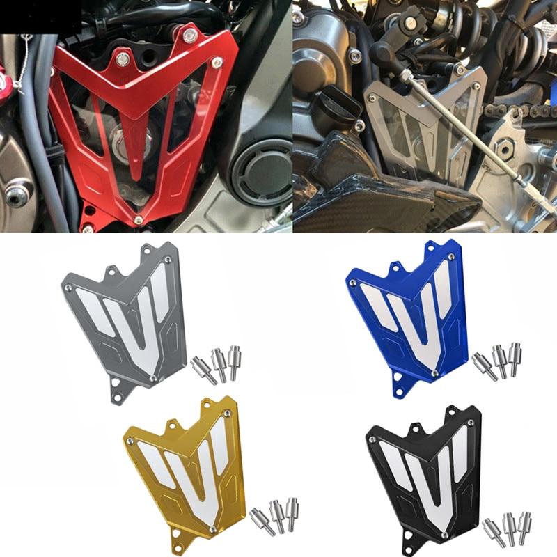 MT-07 FZ-07 Engine Chain Guard For YAMAHA MT07 MT 07 FZ07 FZ 07 2013 2014 2015 2016 Motorbike CNC Aluminum Front Sprocket Cover
