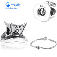 Most Popular Products Hand Made Charm Silver 925 Fits Bracelet Alibaba Express Supplier GW Fine Jewelry