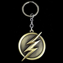 The Flash Lightning Keychain