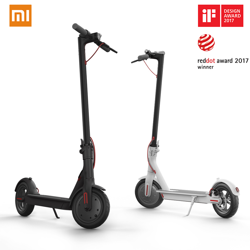 2018 Xiaomi mijia M365 adult electric scooter longboard hoverboard skateboard 2 wheel patinete electrico scooter 30KM mileage