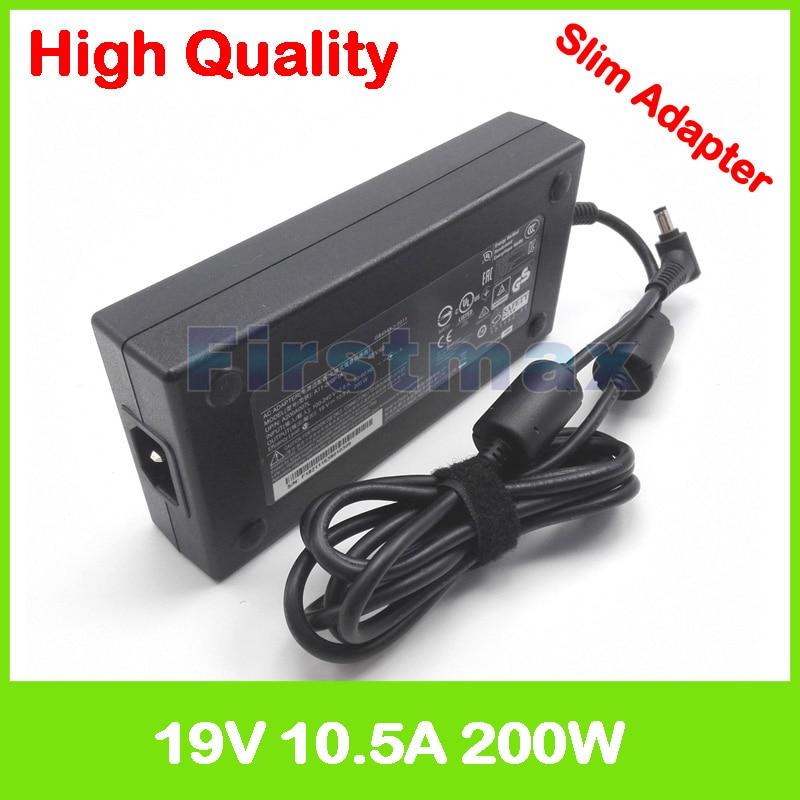 Slim laptop charger 19V 10.5A ac adapter for Gigabyte Aorus X5 MD v6 v7 v8 X5S v5 P35X P37X v5 v6 v7 P56XT P57X v6 v7 P37X v4 v6
