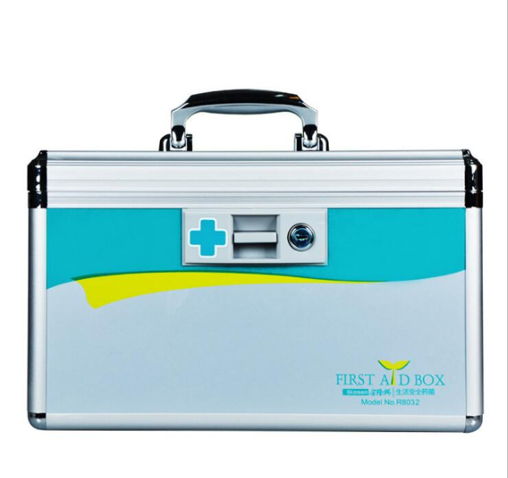 JIAN300-Портативный первой медицинской помощи комплект 12 дюймов алюминиевый сплав Домашняя аптечка