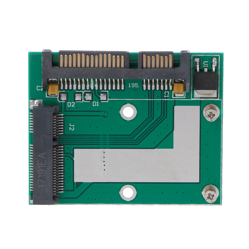 Mini PCI-E MSATA SSD To 2.5
