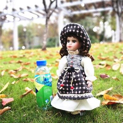 Hauteur 30 cm russie belle porcelaine européenne poupée chambre personnalité ameublement anniversaire noeud nous poupée anniversaire noeud fille cadeaux