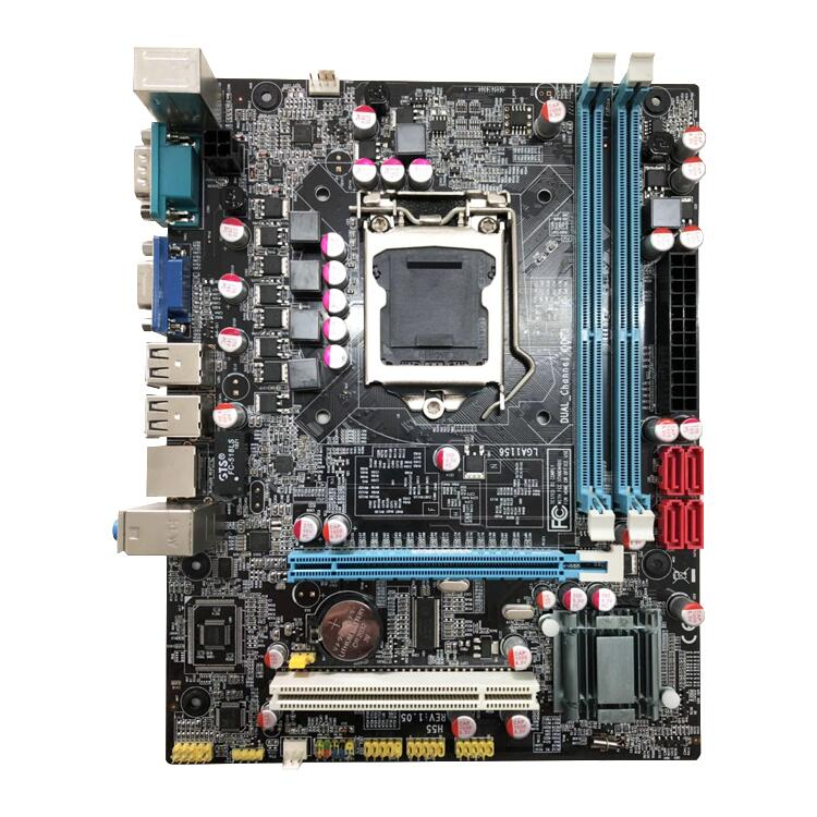 New H55 LGA1156 Motherboard For Computer DDR3 Supports I3 I5 I7 CPU mainboard PC Mainboard Main Board