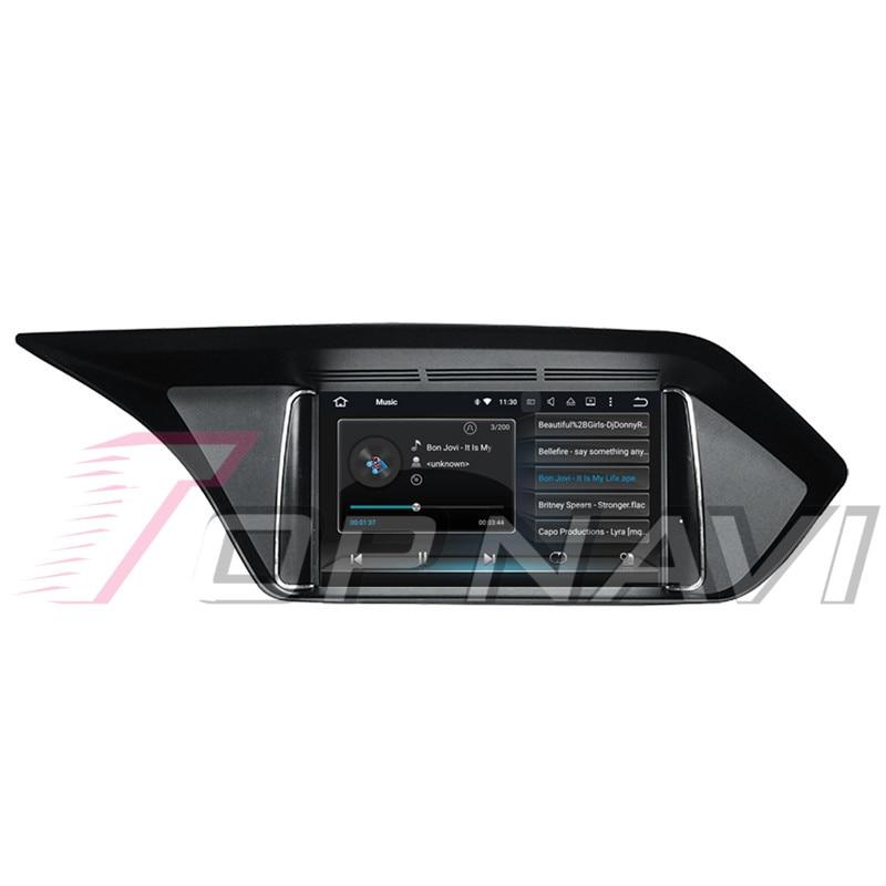 Topnavi Android 8.0 voiture PC lecteur Auto Radio pour Mecerdes Benz C (2014 2005 2006 2007 2008-2017) GPS Navigation 4 + 32 GB Octa Core - 5