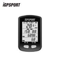 IGPSPORT Ciclismo ANT + Computadora de La Bicicleta Deportes del Monitor Del Ritmo Cardíaco de Bluetooth 4.0 GPS Inalámbrico Cronómetro Velocímetro Accesorios