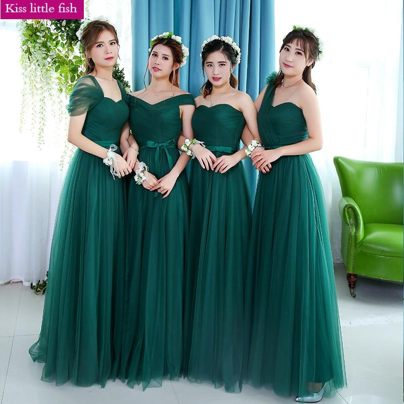 Online Buy Wholesale dark green bridesmaid dresses from China dark ...