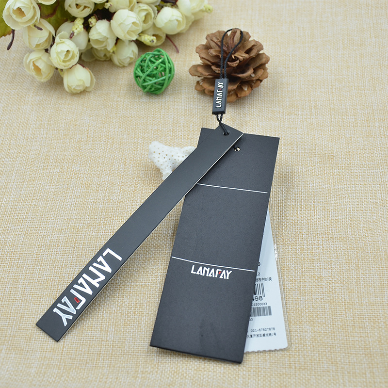 Direct manufacturers OEM custom-made clothing trademark trademark paper wholesale production
