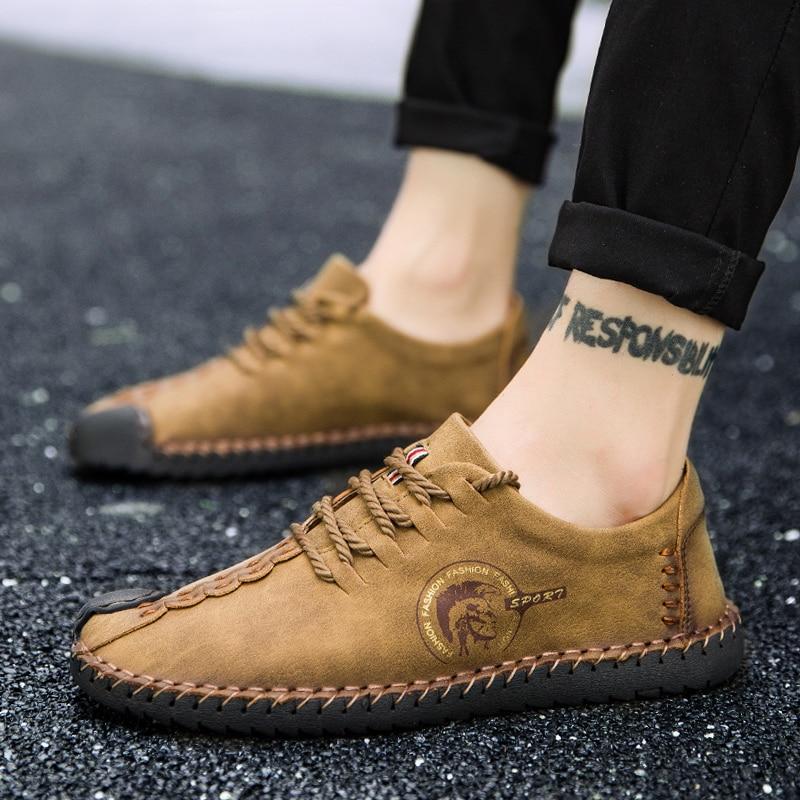 Лидер продаж 2018 года, мужская повседневная обувь, желтые, черные туфли на подошве для взрослых, дышащая мужская обувь на шнуровке, zapatos hombre, б...