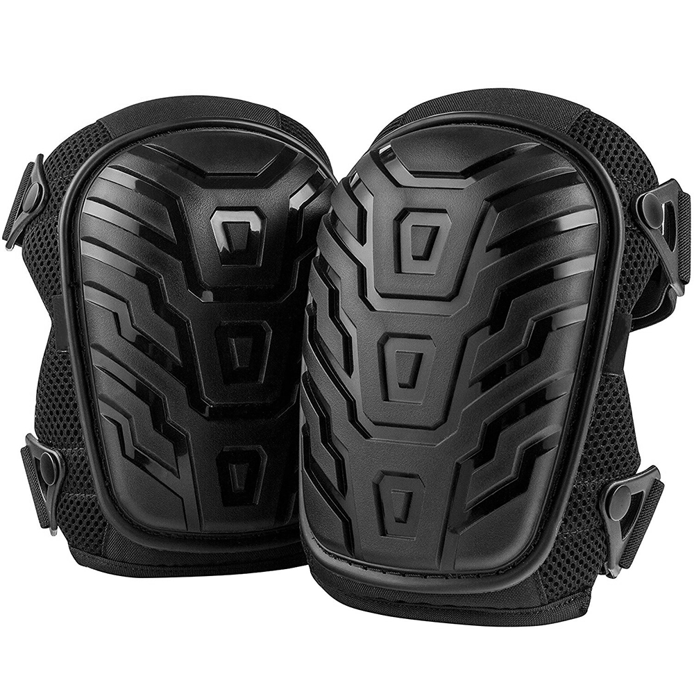 HOUKIPER 2pcs EVA Gardening Knee Pads to Work Safely in Garden with Adjustable Shoulder Straps Suitable for Concrete and Hardwood Floor