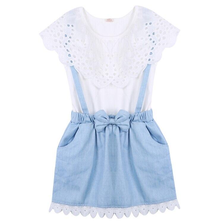 Dynamic Rlyaeiz 2018 Summer Girl Cowboy Suspender Dress Girls Denim Strap Dress Jean Sundress Kids Dresses For Girls Baby Clothing Dresses