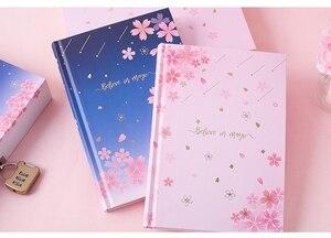 "Image 2 - ""Sakura Magic"" Lock Box Dagboek Notebook Leuke Journal Meisjes Briefpapier Gift"