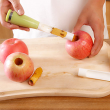 Corers Apple core remover Plastic Fruit Core Splitter creative corer labor-saving Core separator kitchen supplies