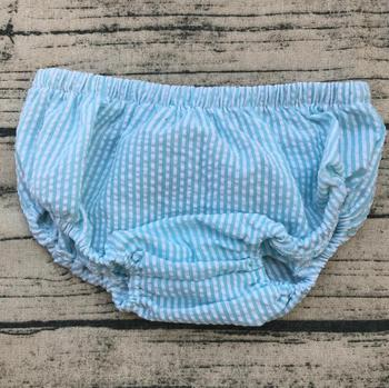 2017 Hot Sale Natural Color Baby Shorts Children Casual Comfertable Seersucker Bloomer фото