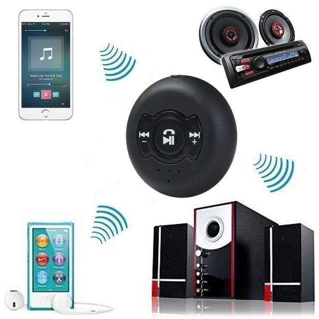 Multi-point 2 In 1 Bluetooth 4.0 Audio Receiver Music Streaming Adapter for Car Stereo Sound System Supports Hands Free
