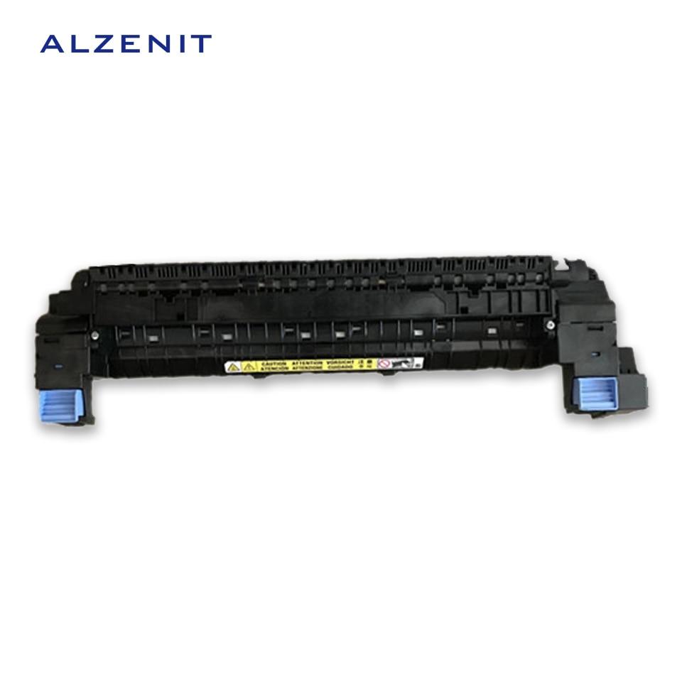 ALZENIT For HP CP5225 CP 5225 HP5225 Original Used Fuser Unit Assembly LaserJet  220V Printer Parts On Sale second hand for hp laserjet m1120 m1120 fuser assembly fixing unit 220v printer parts on sale