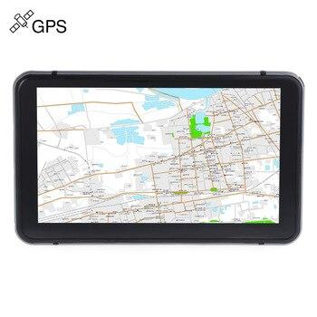 706 7 Inch Truk Mobil GPS Navigasi Navigator dengan Peta Gratis Menang CE 6.0/Layar Sentuh/E-book/ video/Audio