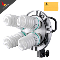 Photo Studio Godox TL 4 4in1 E27 Socket Tricolor Bulb Light Speedring Lamp Head Multi Holder