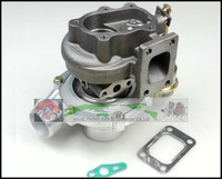 GT2860 float bearing Water Cooled Turbo Compressor Turbocharger AR 0.60 AR 0.64 Turbine For NISSAN S13 S14 S15 CA18DET T25 400HP