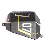 For Yamaha MT07 MT 07 2013 2014 2015 2016 2017 Motorcycle CNC Aluminum Radiator Side Protective