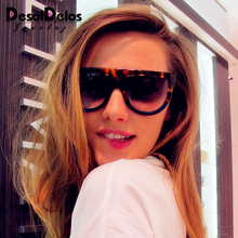 2019 Flat Top Oversized Sun Glasses Female Sexy Ladies Cat Eye Sunglasses Women Brand Designer Oculos De Sol Feminino UV400