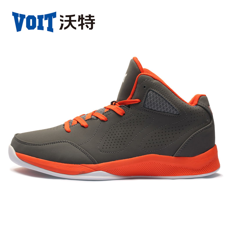 2017 VOIT High-Top Men's Athletic Basketball Shoes Breathable Outdoor Sneakers Wavy Grip Wear Non-slip Traning Shoes