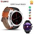 Горячая продажа! LEMFO LEM5 Android 5.1 OS Smart Watch Phone with MTK6580 1 ГБ + 8 ГБ WIFI 3 Г Монитор Сердечного ритма Smartwatch для android IOS