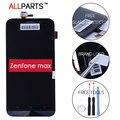100% Probado Original TFT 1280x720 Pantalla Dual SIM 4G LTE para asus zenfone max zc550kl lcd digitalizador de pantalla táctil con marco