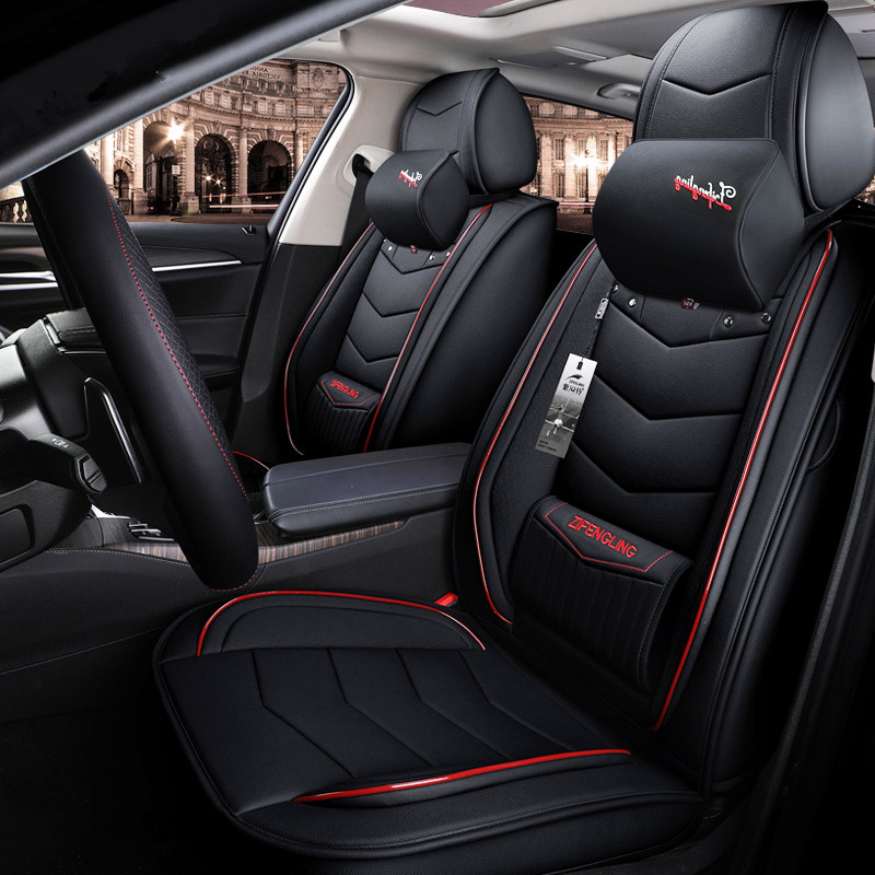 2019 Top Leather Car Seat Covers Car Styling Car Seat