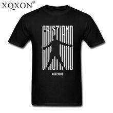 e9179036fc3 XQXON new Men women Cotton Summer Ronaldo CR7 Juventus FC Serie A  CR7 Turin  T-SHIRT
