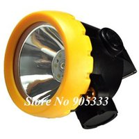 New LED Mining Lamp Headlight Cordless Free Shipping