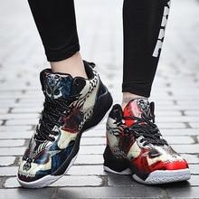 JYRhenium New Professional Men Basketball Sneakers Retro Jordan Sapatilla Hombre Adult Student Shoes Uptempo Sports